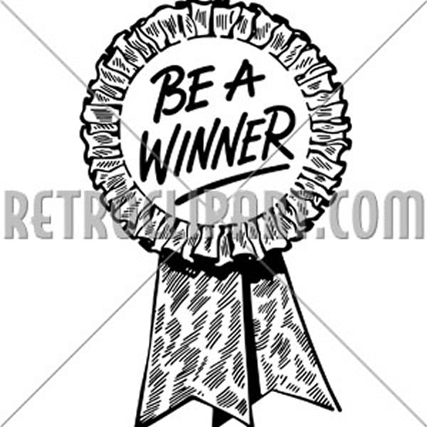 Be A Winner Ribbon