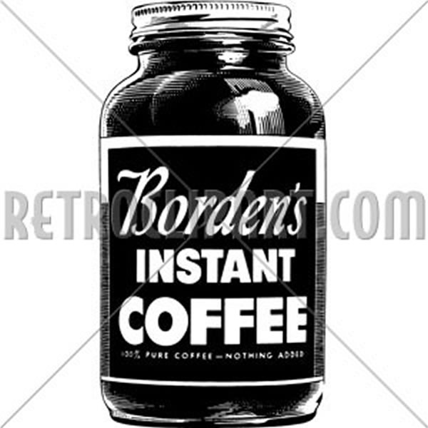 Bordens Instant Coffee