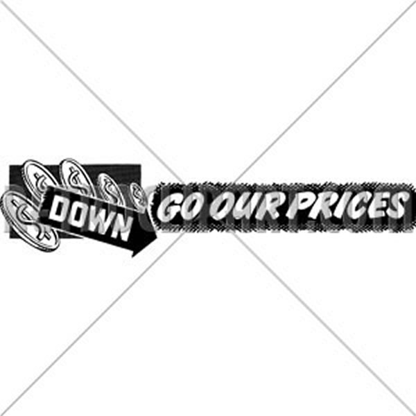 Down Go Our Prices
