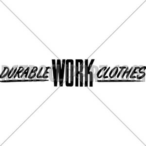 Durable Work Clothes