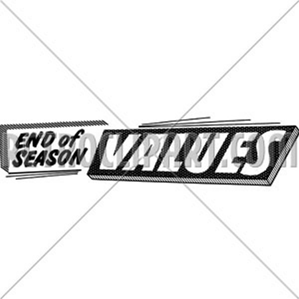 End Of Season Values
