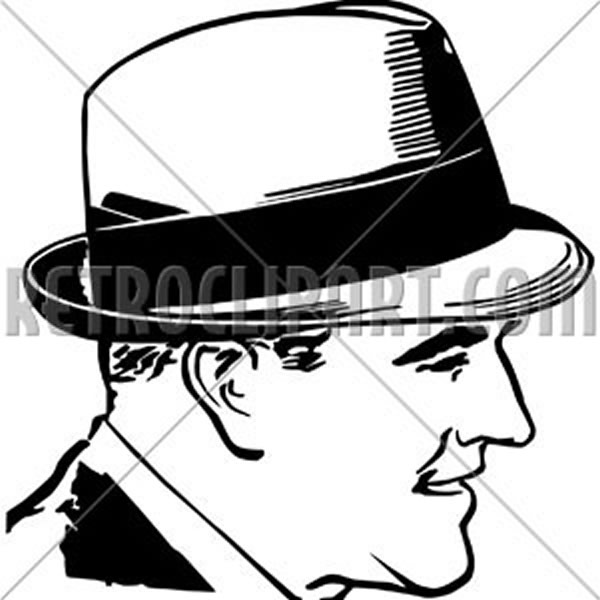 Fifties Guy With Hat