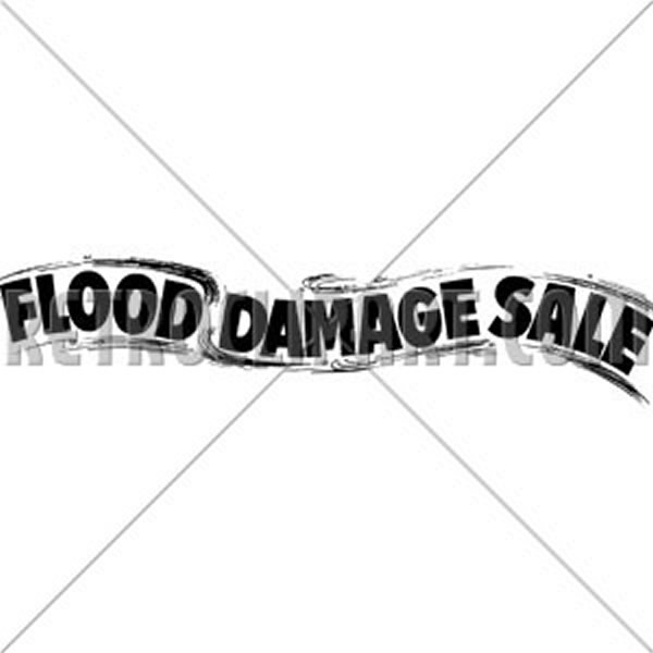 Flood Damage Sale