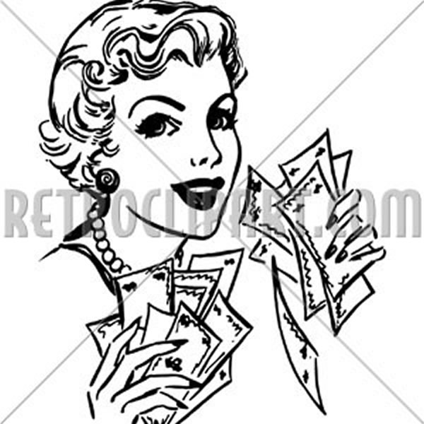 Lady With Cash