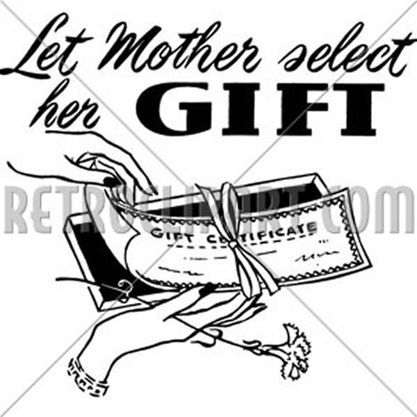 Let Mother Select Her Gift