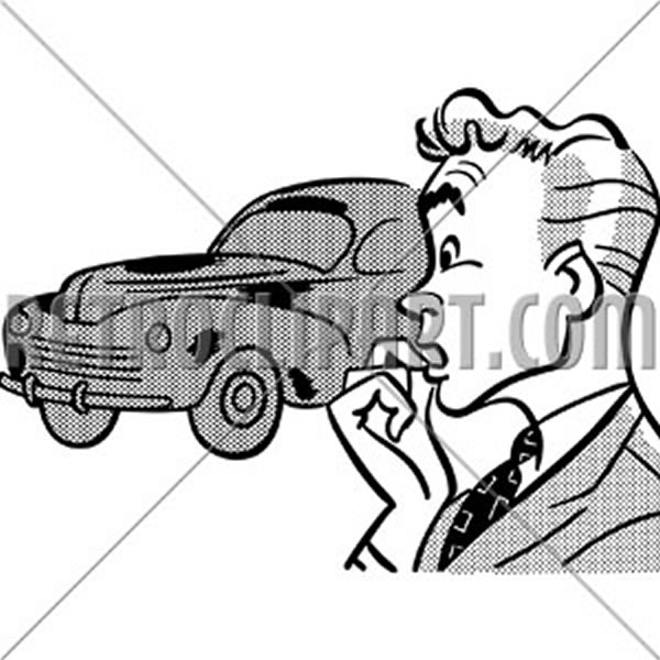 Man Buying Car