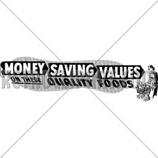 Money Saving Values
