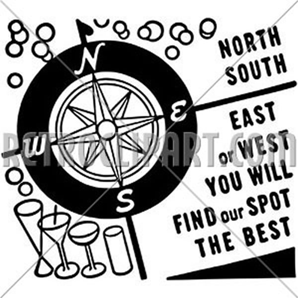 North South East Or West