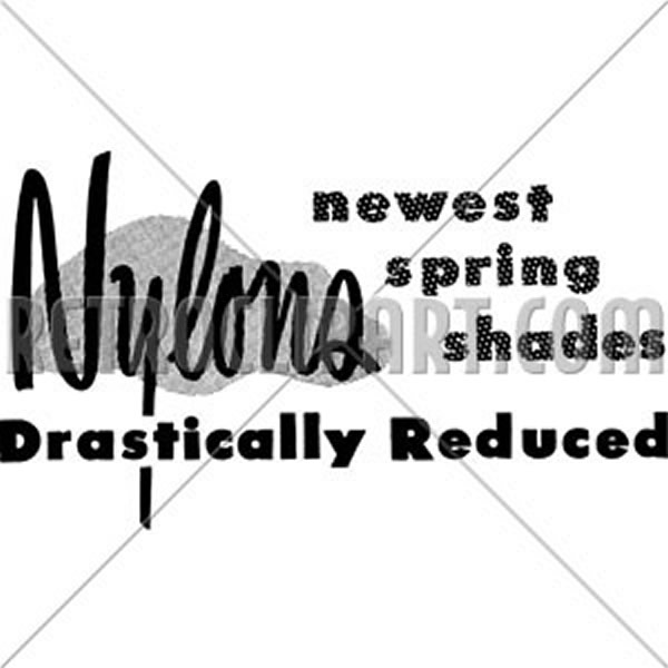 Nylons Reduced