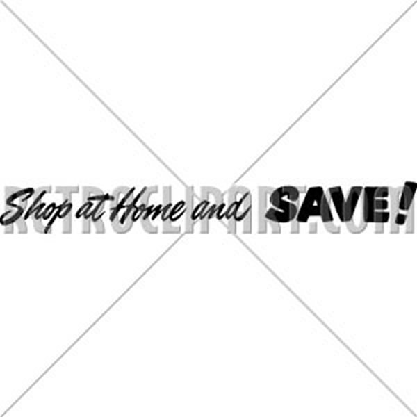 Shop At Home And Save