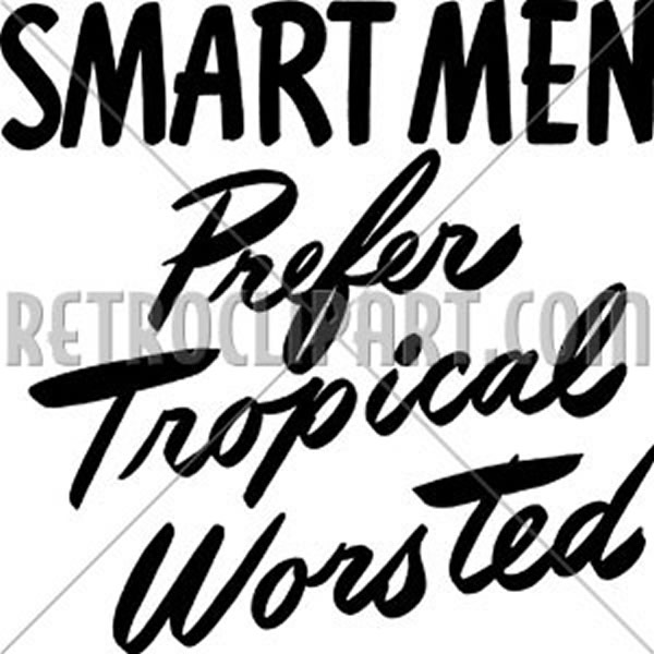 Smart Men Prefer Tropical