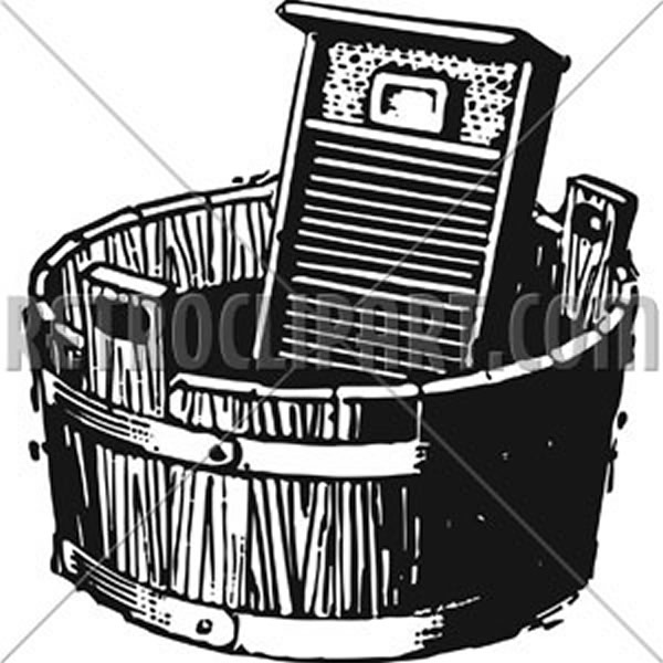 Washboard And Bucket