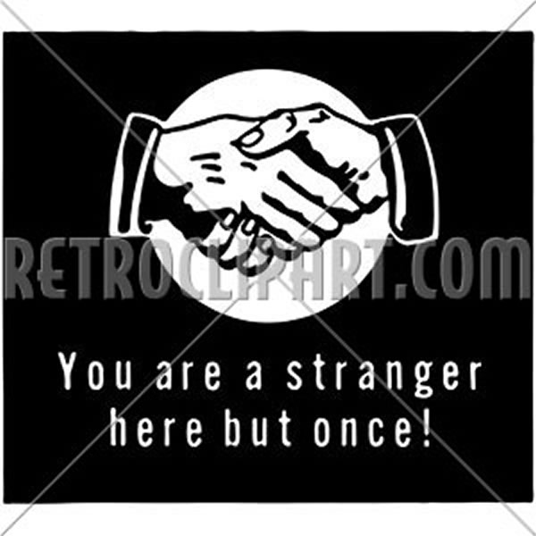 You Are A Stranger